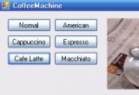 Screenshot programu CoffeeMachine 1.0