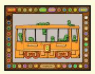 Screenshot programu Coloring Book 6: Number trains 4.22.98
