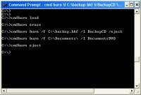 Screenshot programu CommandBurner 3.5.0