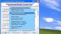 Screenshot programu Commercial Rental Tracker Plus 1.2.9