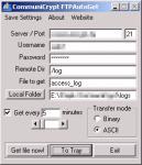 Screenshot programu CommuniCrypt FTPAutoGet 0.5