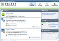 Screenshot programu Comodo Firewall Pro 5.12.256249.2559