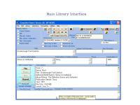 Screenshot programu Complete Home Library 9.2.1.1