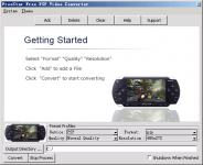 Screenshot programu Convert MPEG MP4 1.0.2