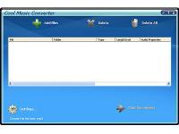 Screenshot programu Cool Music Converter 7.4.3.60