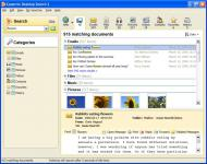 Screenshot programu Copernic Desktop Search 4.0.5