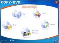 Screenshot programu CopyToDVD 4.3.1.11