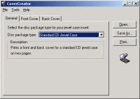 Screenshot programu CoverCreator  4.2