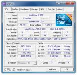 Screenshot programu CPU-Z 1.75.0