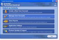 Screenshot programu Crawler Parental Control 1.1.0.223