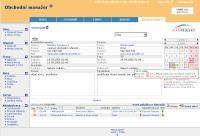 Screenshot programu CRM online - Obchodní Manažer 2