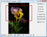 Screenshot programu Cropper  1.9.4