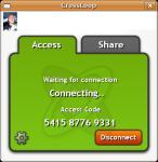 Screenshot programu Crossloop 2.82