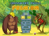 Screenshot programu Crossword Puzzle Premium 1.0