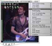Screenshot programu Crystal Player Pro 1.98