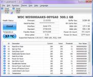 Screenshot programu CrystalDiskInfo 6.6.1 Portable