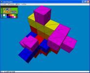 Screenshot programu Cube Kingdom