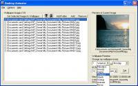 Screenshot programu Cyclone Wallpaper Changer (dříve Desktop Animator) 1.1