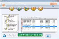 Screenshot programu DDR - FAT Recovery 4.0.1.6