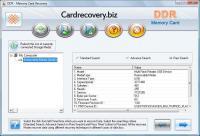 Screenshot programu DDR - Memory Card Recovery 4.0.1.6