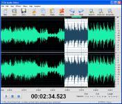 Screenshot programu DJ Audio Editor 4.3
