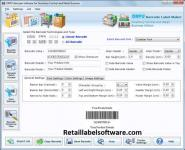 Screenshot programu DRPU Barcode Software for Inventory Control and Retail Business 7.3.0.1
