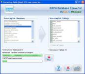 Screenshot programu DRPU Database Converter - MySQL to MS Excel 4.0.1.5