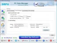 Screenshot programu DRPU PC Management Advanced 5.4.1.1