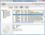 Screenshot programu Data Doctor Recovery - SIM Card 4.4.1.2