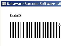 Screenshot programu Dataware Barcode Software 1.0
