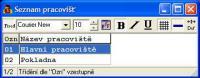 Screenshot programu DeCe SMĚNÁRNA W6.20