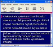 Screenshot programu Deseti Prsty - Test 2.0.21