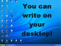 Screenshot programu Desktop Notepad 2.0.1