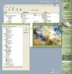 Screenshot programu Desktop Sidebar 1.05.116 Beta
