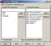 Screenshot programu Desktop Teleporter 1.3.2.5
