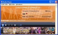 Screenshot programu Detrix player 2.1