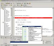 Screenshot programu Dev-C++  5.0 beta 9.2