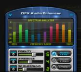 Screenshot programu DFX for Winamp 9.012