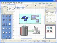 Screenshot programu Diagram Studio 5.1
