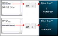 Screenshot programu DialDirectly 1.12.0308