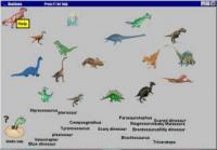 Screenshot programu Dinomania 1.2