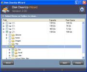 Screenshot programu Disk CleanUp Wizard 2.0.2.5
