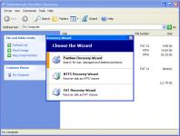 Screenshot programu DiskInternals Partition Recovery  3.7