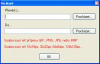 Screenshot programu Do ikon! 1.0.1