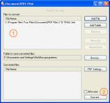 Screenshot programu Document2PDF Pilot 2.6.96