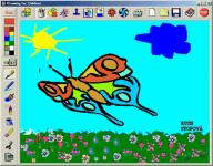 Screenshot programu Drawing For Children 2.2