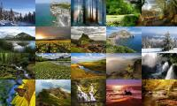 Screenshot programu Dream Land Photo Screensaver 2.0