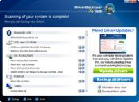 Screenshot programu Driver Backuper 1.8.1.0
