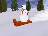 Screenshot programu Dude: The Snowman