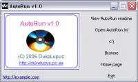 Screenshot programu Dukelupus AutoRun 1.0
